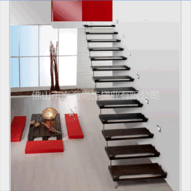 直线式悬浮楼梯,厂家定制生产