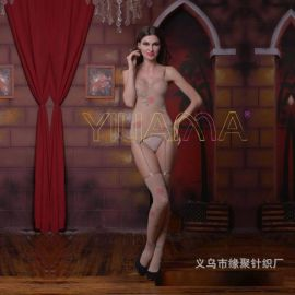 速賣通亞馬遜爆款性感玫瑰花情趣連身衣絲襪丁字褲玫瑰花長統襪