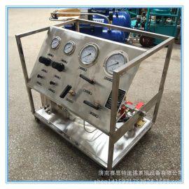 高压水压爆破试验台 耐压试验台0-320兆帕水压试验机赛思特