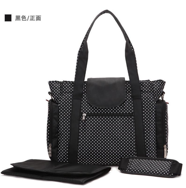 上海定制多功能大容量妈咪包来图打样可添加logo
