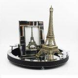 欧式创意钻石圆形托盘家居饰品工艺品橱窗饰品摆件