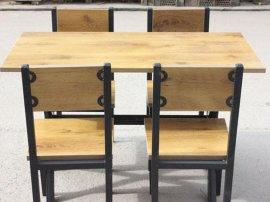 全实木餐桌椅批发 组合简约 现代橡木 特价家用
