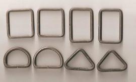 双排辘头打扣机 箱包扣五金配件成型设备、D型扣、四方扣