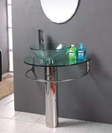 玻璃台盆(B-027)