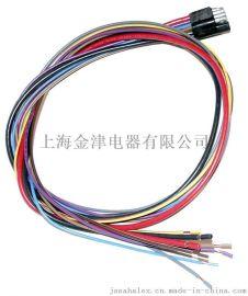 3脚8PIN矩形插头,仪表盘线束,线束定制加工