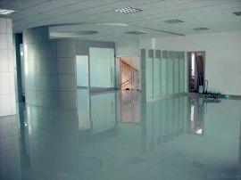 花都写字楼地板漆涂刷 君诚丽装专业办公室环氧地坪漆施工
