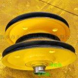 铸钢加筋板滑轮组 起重机定滑轮 20t轧制滑轮组