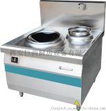 西安巨尚商用廚房設備 商用電磁單炒單溫竈