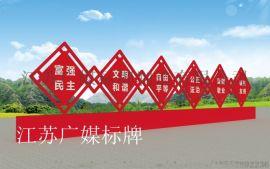 浙江温州瑞安市党建文化标牌定制厂家