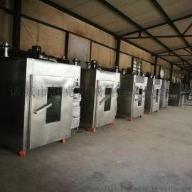 100型电加热豆干烟熏炉,不锈钢托盘式全自动烟熏炉