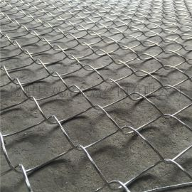 高锌丝菱形勾花网 10%铝锌合金丝菱形网厂家