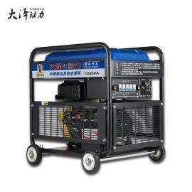 大泽动力TO250A 250A柴油发电电焊机 电启动工业便携式两用一体机
