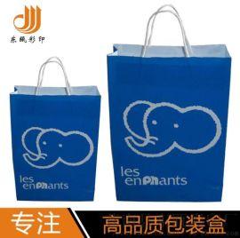 厂家定制广告宣传礼品纸袋创意手提袋白卡纸购物袋韩版创意礼品袋