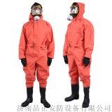 轻型防化服是供消防抢险队员防护服
