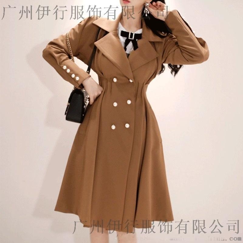 迪笛欧一线品牌尾货女装 浙江品牌折扣女装批发尾货红色小西装
