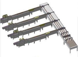 博白薄膜包装机分道式陆川理料包装线