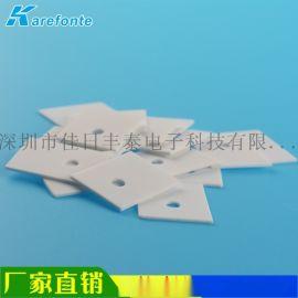 氧化铝陶瓷 导热绝缘片 耐高温高压散热垫厂家