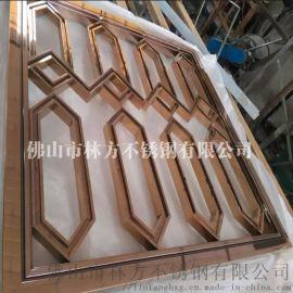福州 厂家定制激光切割屏风 不锈钢电镀焊接屏风