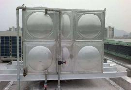 专业定制玻璃钢水箱 建筑屋面玻璃钢消防水箱