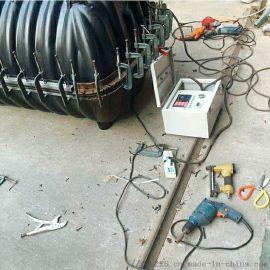 HDPE排水管热熔机聚乙烯b型管hdpe热熔机焊机