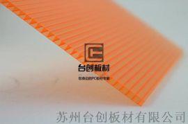 原武鎮、師寨鎮透明採光PC波浪瓦定製 中空板定製
