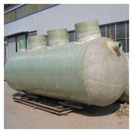 北京一体化三格沉淀池 玻璃钢工业用隔油池