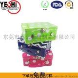 東莞塘廈製造高檔方形手挽罐/高檔包裝鐵盒/收納盒