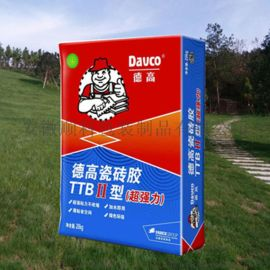20KG瓷砖胶建材包装袋生产厂家