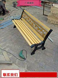 甘肅小區休閒座椅質優價廉 戶外防腐木座椅報價