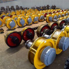 800×200行车大型锻件轮 起重机轨道车轮组