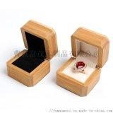 翻盖竹木盒定制竹木首饰盒定制竹木盒