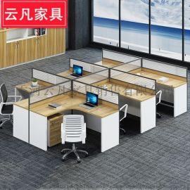 L形屏风工位 办公桌隔断