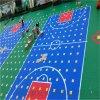 甘肅安裝懸浮地板施工籃球場拼裝地板廠家劃線
