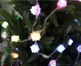 LED樱花灯串 樱花造型灯串、创旅、灯光秀灯串