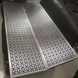 窗花鋁板300*1200,圖案定制窗花鋁扣板
