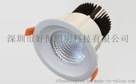 射灯led嵌入式天花灯客厅家用7w12w洗墙灯科瑞高显指cob吊顶筒灯