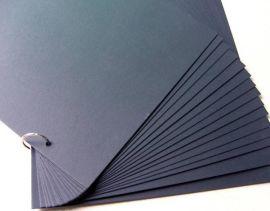 偏蓝光黑卡纸印刷白墨不泛红黑卡纸不掉色黑卡纸