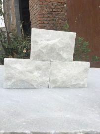 2018厂家供应白石英蘑菇石 白色蘑菇石 纯天然蘑菇石文化石