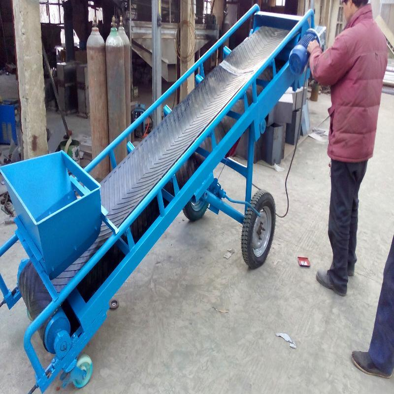 供應高溫皮帶機輸送機 電滾筒膠帶輸送機 固定式膠帶輸送機