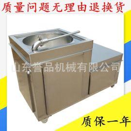 不锈钢灌肠机 烤肠大型猪肉腊肠成套灌装设备免费技术支持包运费