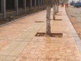 上海桓石150余种高强度混凝土压花路面艺术混凝土厂家直销 压花地坪