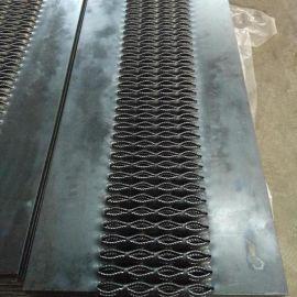折弯鳄鱼嘴防滑板 不锈钢防滑板 **防滑板