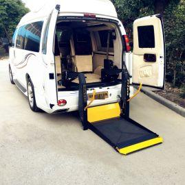 面包车尾门电动液压升降机 残疾人轮椅上下车平台