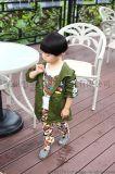 盯盯喵QJG3906 13碼兒童中長款米奇風衣