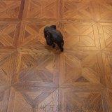 廠家直銷 高性價比實木複合拼花地板 橡木地熱新款