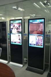 江苏直销55寸落地苹果款网络版液晶传媒广告机