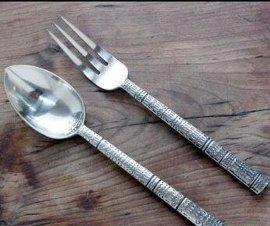 盼源专业定制不锈钢餐具套装