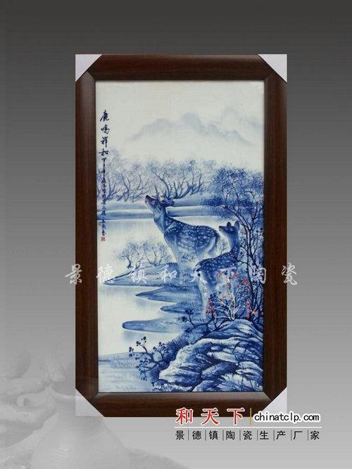 景德镇陶瓷瓷板画 工艺瓷板画 礼品陶瓷瓷板画厂 **瓷板画定制