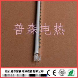 半镀白碳纤维石英加热管 红外线碳纤维灯管