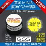 进口GSS/红外二氧化碳/CO2传感器/高精度低功耗/TTL数字/原厂包邮